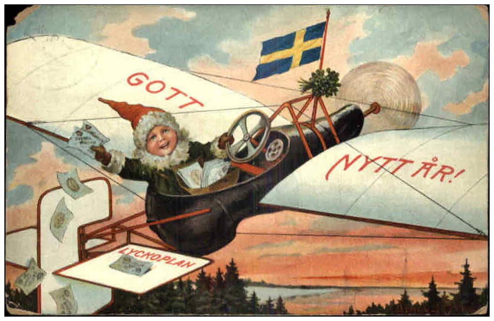 Old Swedish Card